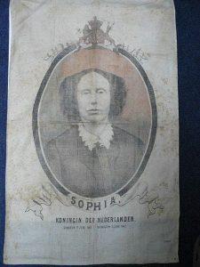 doek t g v het overlijden van Koningin Sophie 1877