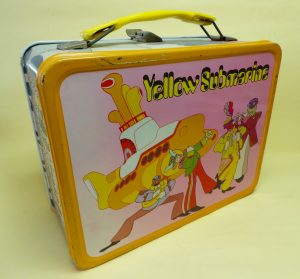 The Beatles Yellow Submarine lunch box made by Aladdin USA 1968