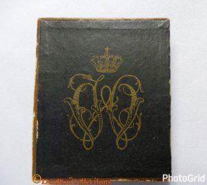 Tinnen plaquette t.g.v het huwelijk van Koningin Wilhelmina & Prins Hendrik