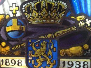 gesigneerd 't Prinsenhof Delft