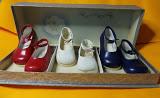de Beatrix schoentjes in de Nederlandse driekleur