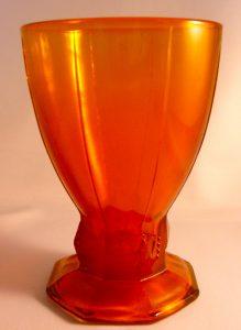 Dit zeldzame glas Jubileum Wilhelmina 1948 is nooit in produktie geweest.