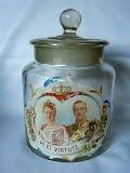 snoep pot huwelijk Wilhelmina Hendrik 1901 gemaakt in Nederlands Indie