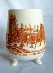 Vaasje Tentoonstelling Amsterdam 1883.