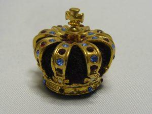 De kroon van Koning Willem I uit 1815