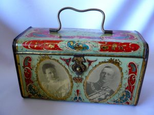 Lunch box huwelijk Koningin Wilhelmina & prins Hendrik 1901