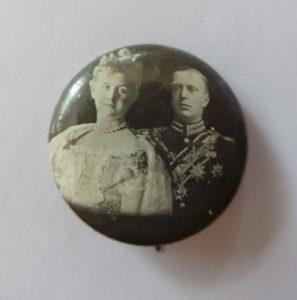 Buttons wedding Queen Wilhelmina & prince Hendrik 1901