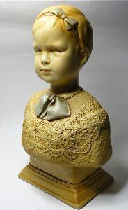 Buste van prinses Juliana ca 1913
