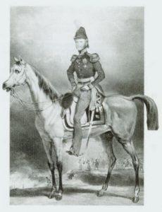 de prins van Oranje tijdens de tiendaagse veldtocht