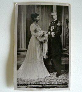 Piep kaart uit 1909, geboorte Juliana.