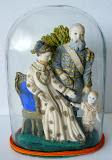 Stolp met de Koninklijke familie in was ca 1884.
