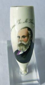 stommel met portret Koning Willem III 1874