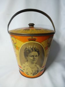 Blikken emmer jubileum 1923 Wilhelmina